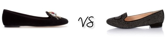 Ballerines vs mocassins